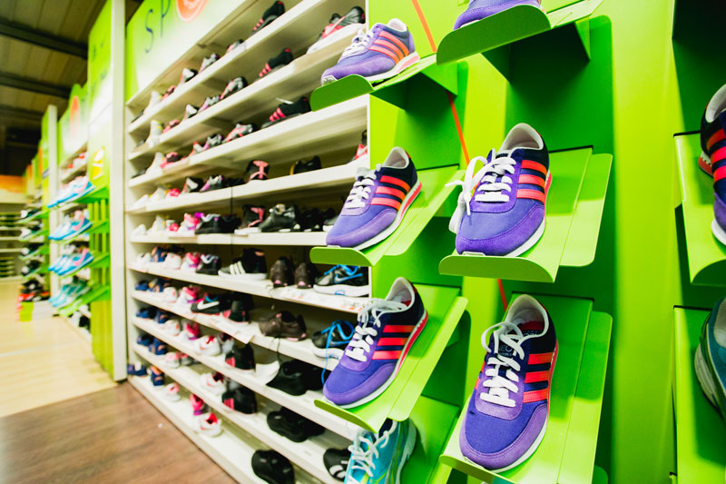 rayon chaussures sports