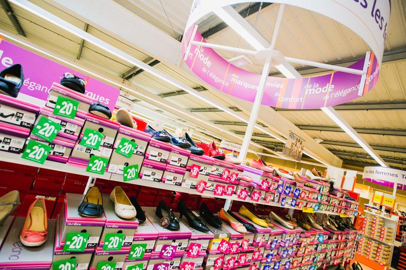 Promotion La Halle aux chaussures