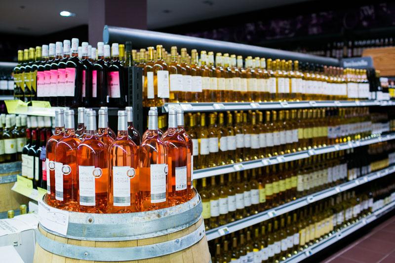 Vin blanc et rosé