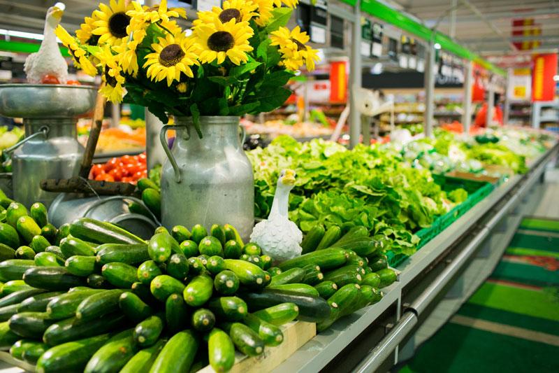 Rayon Fruits et légumes fraits