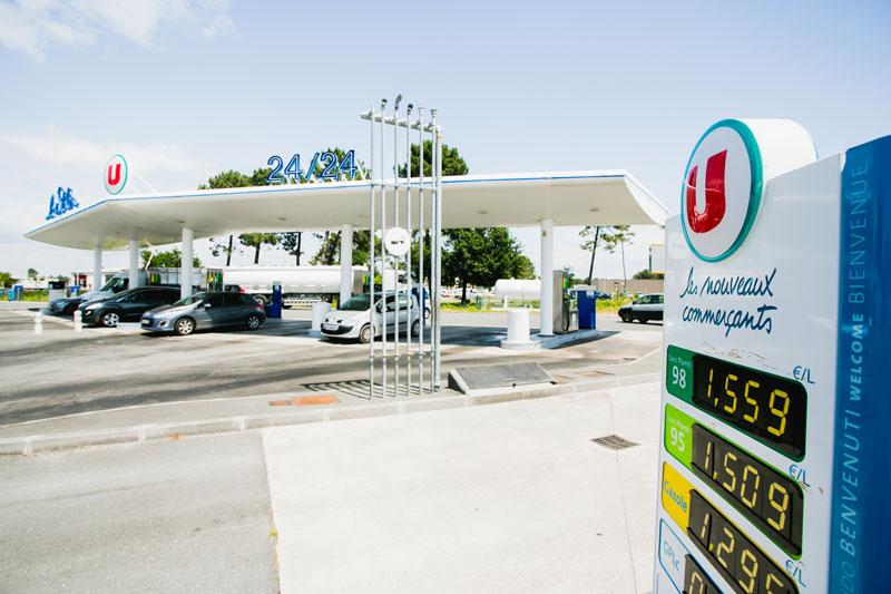 tarifs essence station U