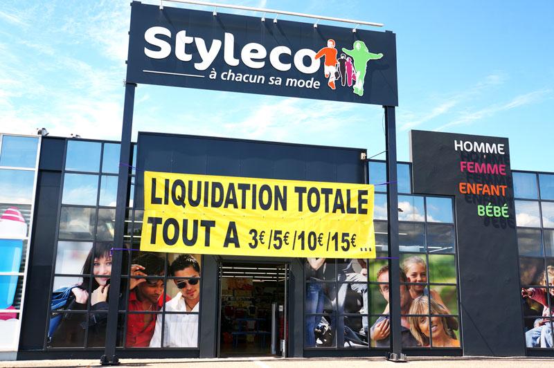 Styleco Gujan en liquidation