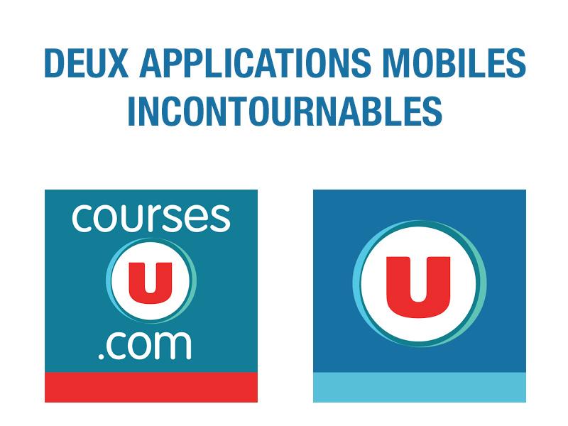 Logos applications mobiles U