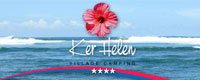 "Logo du camping ""Ker Helen"" au Teich"